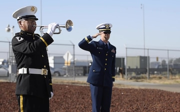 Coast Guard personnel in Sacramento held a 10-year anniversary remembrance service for aircrews involved in collision