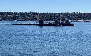 USS Olympia (SSN 717) Arrives in Bremerton for Decommissioning