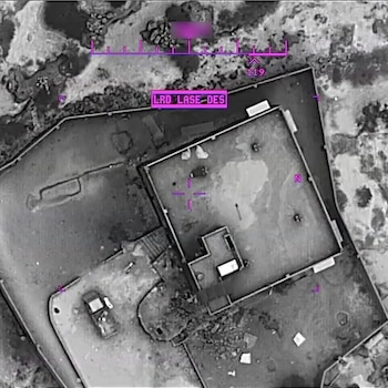 Upon exfiltration of the target compound, U.S. forces employ precision munitions from a U.S. Remotely Piloted Aircraft to destroy the compound and its contents.