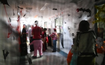 MCAS Iwakuni Headquarters, Headquarters Squadron hosts Haunted Hallway (B-Roll)
