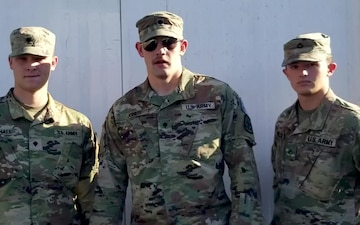 Private First Class Trevor Wilcox Shoutout - University of Wyoming Cowboys