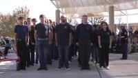 Team Kirtland supports Albuquerque Veterans Day Ceremony