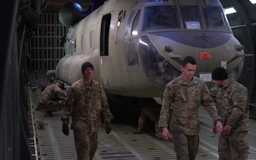 709th Airlift Squadron continues transfer of cargo back to U.S.