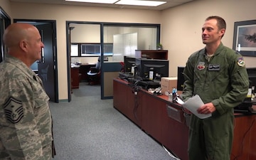 Wearing the Diamond: 142nd Fighter Wing First Sergeants