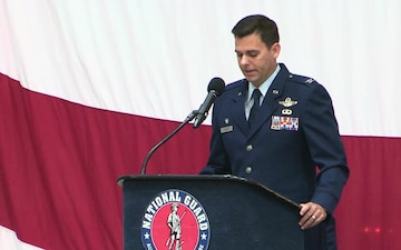 Col. Jacob Hammons Assumes Command of 152nd Airlift Wing