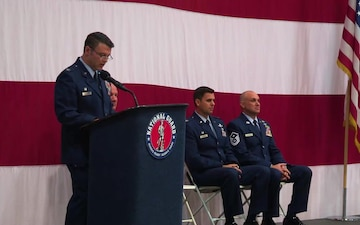 152nd Airlift Wing Change of Command Ceremony