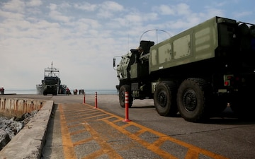 Joint Service HIMARS Embarkation