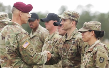 Army medics vie for coveted EFMB: Fort Bragg, Graduation Day