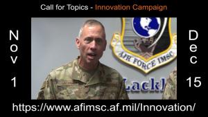 AFIMSC leadership team seeks ideas for Innovation Rodeo