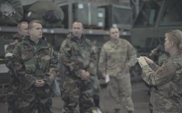 Airmen learn CBRN skills