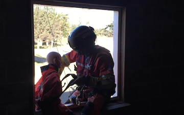 Coast Guard conducts urban rescue training at Camp Rilea