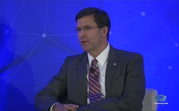 Defense Secretary Speaks at National Security Commission on Artificial Intelligence public conference