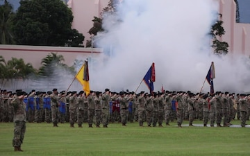 25th Infantry Division Change of Command and Assumption of Responsibility