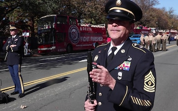 The DC National Guards 257th Army Band helped celebrate the Washington Nationals World Series Championship