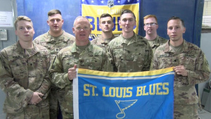 St. Louis Blues Shout-Outs from the 1175th MP Company