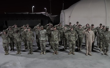 Los Angeles Chargers shout out by deployed military