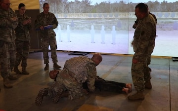 BACH Soldiers train for combat readiness in support of ready medical force