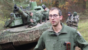 Dragoon Ready 20: 1LT Paul (French Army tanker) - Interview