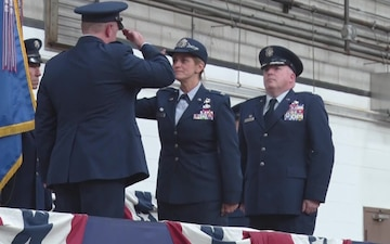 102nd Intelligence Wing change of command