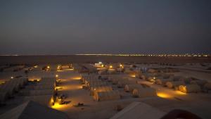 Bird's eye view of Prince Sultan Air Base