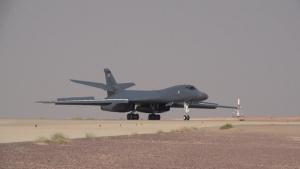 B-1B Lancers land on Prince Sultan Air Base