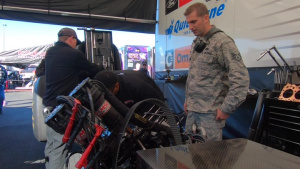 Nellis Maintainers receive first-hand look into NHRA race