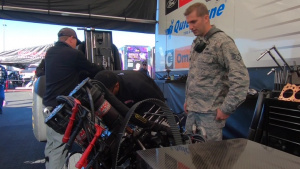 Nellis Maintainers receive first-hand look into life of NHRA