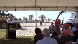 Flyover Groundbreaking Ceremony