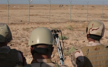 Iraqi Border Security Live Fire Training