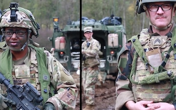 French and U.S. Troops work Together on the medical side