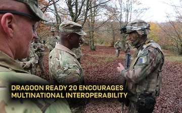 Cyber missions during Dragoon Ready 20 at the Joint Multinational Readiness Center