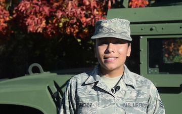 Senior Airman Jeanette Sanchez - PBS News Hour