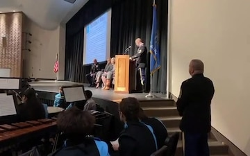 Master Sgt. Matthew O. Williams Speaks at Putnam City West High School, Oklahoma City, Oklahoma