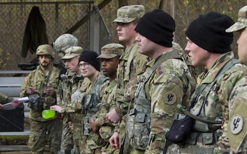 645th Regional Support Group Best Warrior Competition