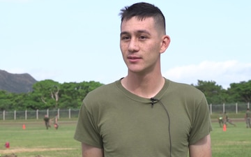 *interview* 7th Communication Battalion CBRN Marine talks about annual field meet