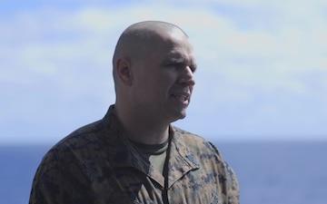 Sgt. Maj. Charles Bell Birthday interview