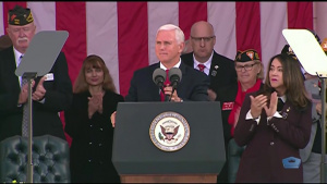 Pence, Esper Commemorate Veterans Day at Arlington
