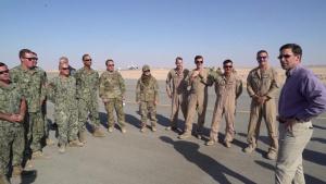 SECDEF Visits Prince Sultan Air Base, Kingdom of Saudi Arabia