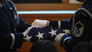Base Honor Guard Military Funeral Honors (B-Roll)