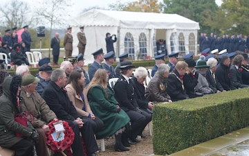 Madingley Cemetery Veterans Day Memorial Ceremony