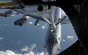 KC-135 Refueling Flight B-Roll