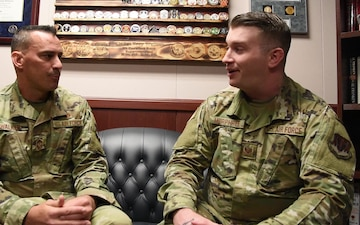 Staff Sgt. Ben Murphree shares how he overcame struggles in his career
