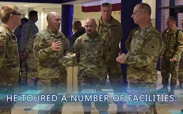 Maj. Gen. Weatherington Visits Goodfellow