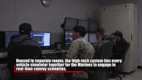 Camp Pendleton Marines take on Combat Convoy Simulator