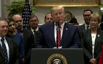 President Trump Delivers Remarks on Honesty and Transparency in Healthcare Prices