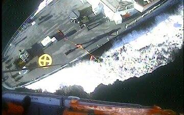 Coast Guard medevacs Canadian sailor in Puget Sound