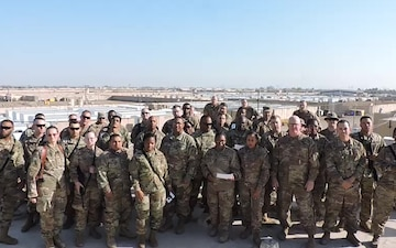 641st-207th RSG 143d SHout Out Taji, Iraq