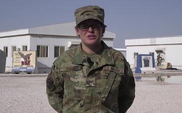 Senior Airman Amanda Kartz - Vacaville, Calif.