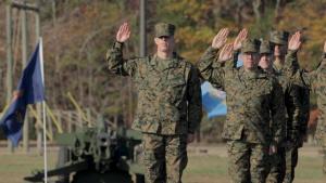 Noah Furbush graduates from Marine Corps Officer Candidates School