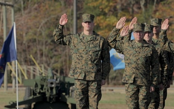 Noah Furbush graduates from Marine Corps Officer Candidates School